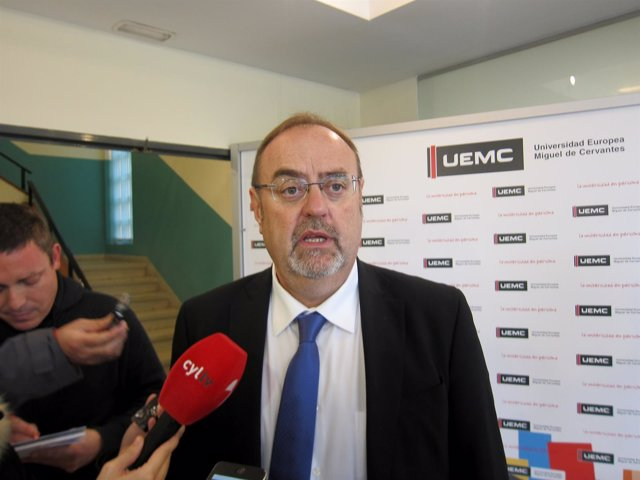 Fernando Rey, consejero de Educación en Castilla y León.