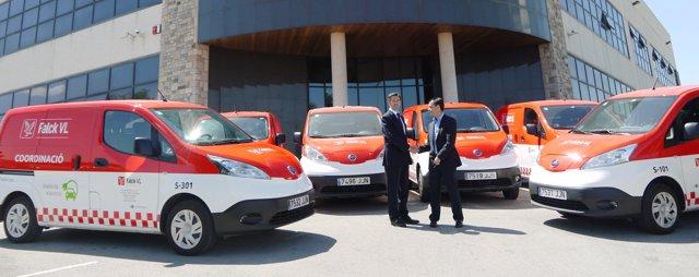 Entrega de Nissan e-NV200 a Falck VL