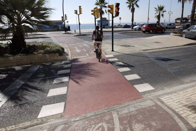 Carril Bici, Bicicleta, Ciclista