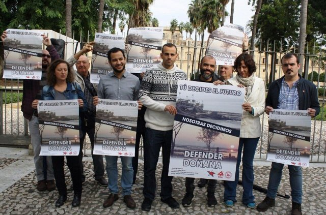 Presentación en Sevilla de la campaña Defender Doñana