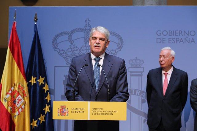 Alfonso Dastis Toma Posesión De La Cartera Que Ocupaba Margallo
