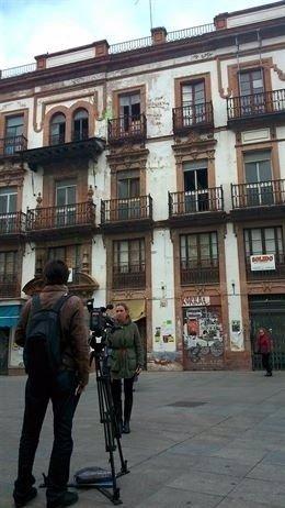 El edificio de la Encarnación.
