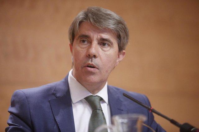 El consejero de Presidencia y Justicia, Ángel Garrido