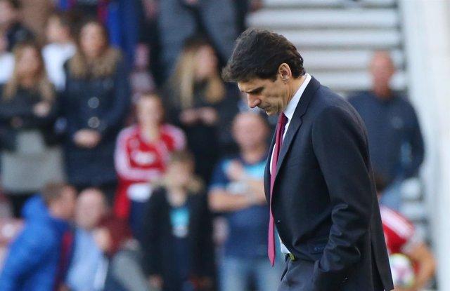 Aitor Karanka, entrenador del Middlesbrough