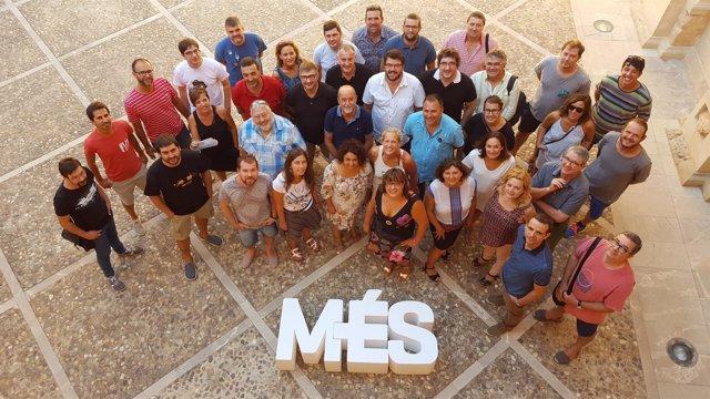 Alcaldes y miembros de MÉS per Mallorca