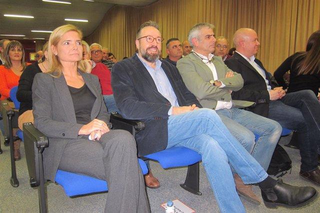 Elena Faba, Juan Carlos Girauta y Carloz Carrizosa