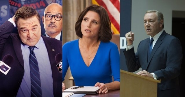 Alpha House, Veep y House of Cards