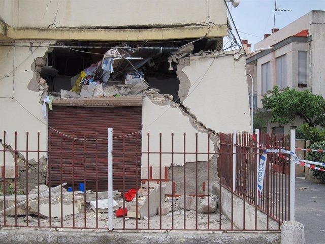 Destrozos Tras Los Terremotos De Lorca