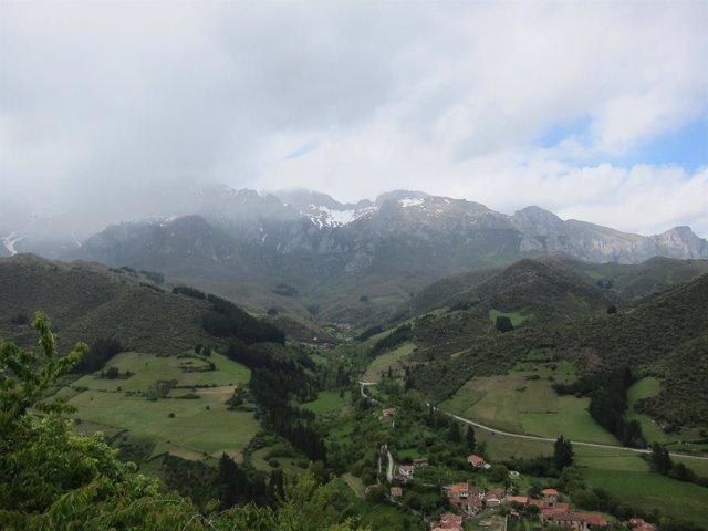 Montañas del valle de Liébana