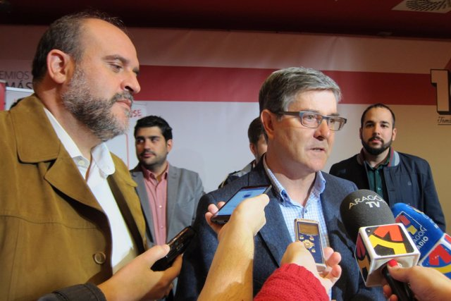 José Luis Martínez Guijarro y Vicente Guillén.