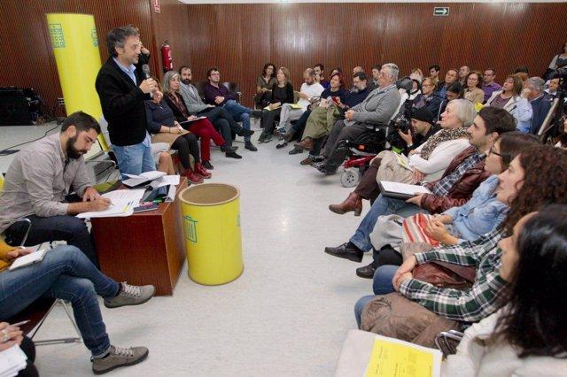 El alcalde de A Coruña en el marco de 'Dillo Ti'.