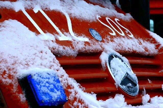 Vehículo del 112 / Nieve / Frío