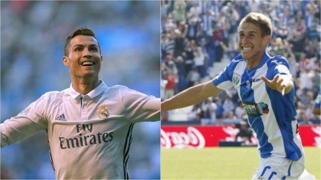 Cristiano Ronaldo y Alexander Szymanowski, Real Madrid y Leganés