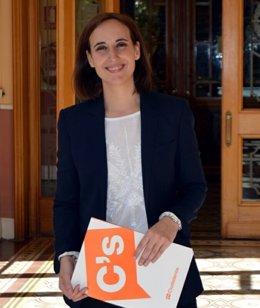 Pilar Vicente, de Ciudadanos.