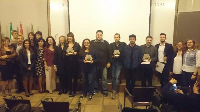 Entrega de premios del Festival de Cortos de la Diputación de Jaén