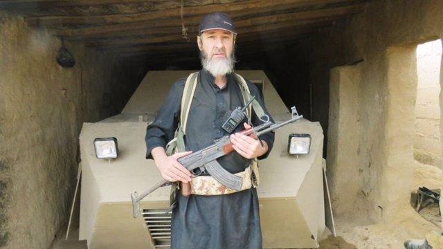 El yihadista irlandés Jalid Kelly