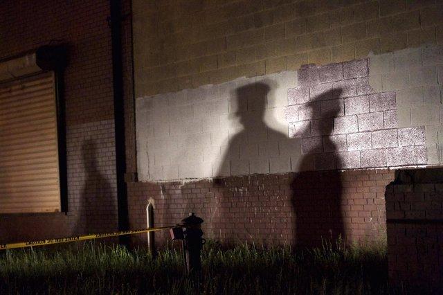 Sombra de Policías