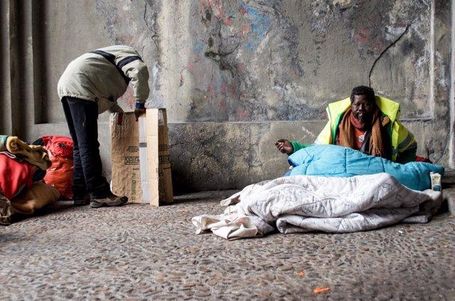 Inmigración, inmigrantes, pobreza, pobre, pobres, Sudafricanos