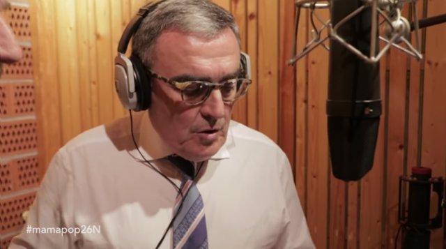 Captura de pantalla del vídeo promocional donde participa el alcalde Àngel Ros