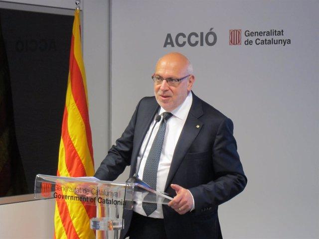 El conseller Jordi Baiget