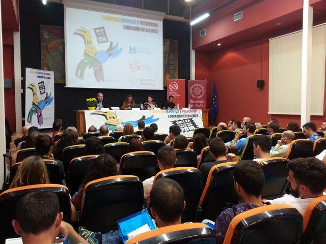 Celebración del I Simposio Deportes y Prevención en Huelva