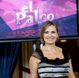 Ainhoa Arteta, presentadora de El palco