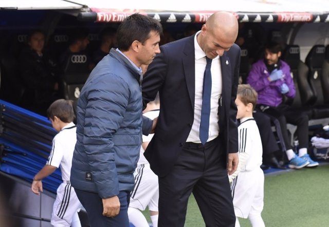 Asier Garitano Zinedine Zidane Real Madrid Leganés