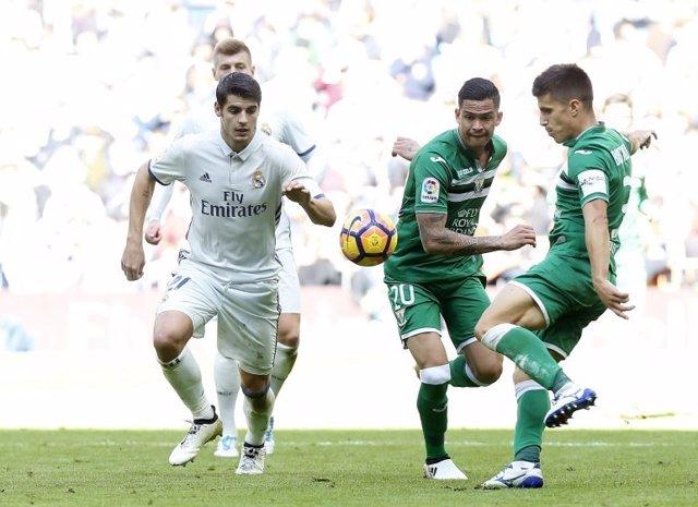 Álvaro Morata Real Madrid Leganés
