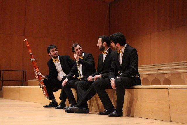 NP. La Formación Zaragozana De Música Clásica Ausin Ensemble Lanza 'Parábolas Al