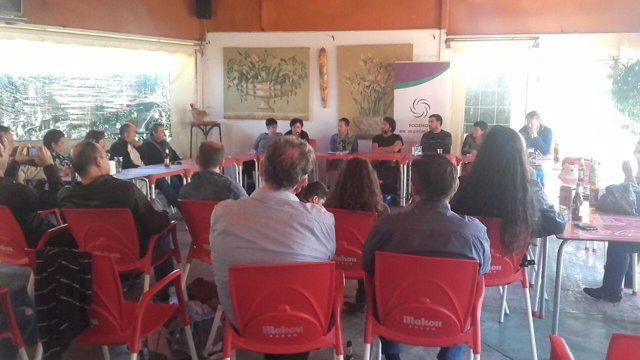 Cierre de campaña Espinosa Podemos en Movimiento