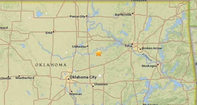Terremoto de magnitud 5 en Oklahoma (EEUU)
