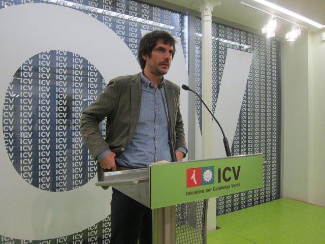 El portavoz de ICV y eurodiputado, E.Urtasun