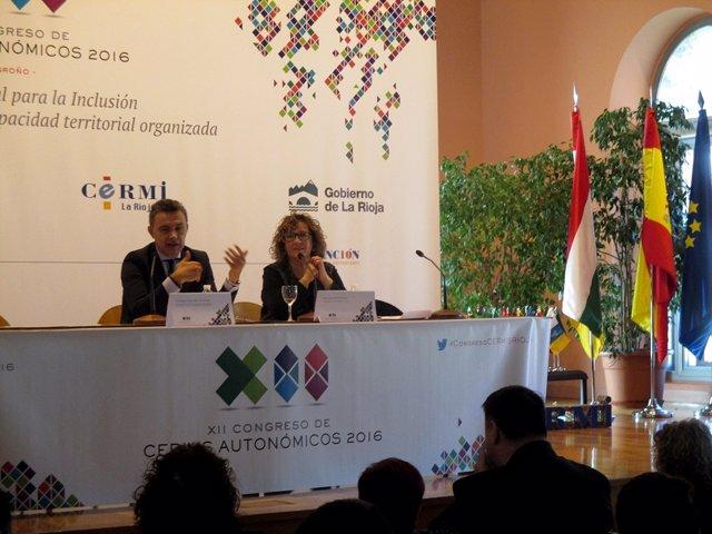 Ndp. EL Gobierno De La Rioja Aboga Ante El CERMI Por Incluir Los Derechos Social