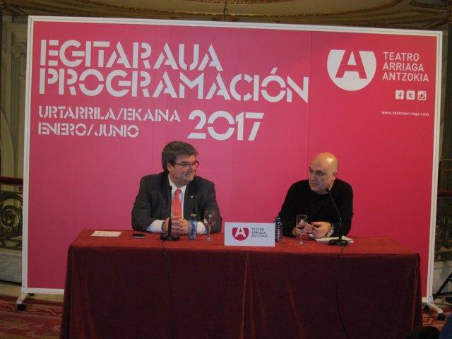 Juan Mari Aburto y Calixto Bietio