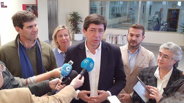 """Ciudadanos (CS)  Juan Marín: """"Hoy Andalucía Ya No Es La Comunidad Donde Más Imp"""