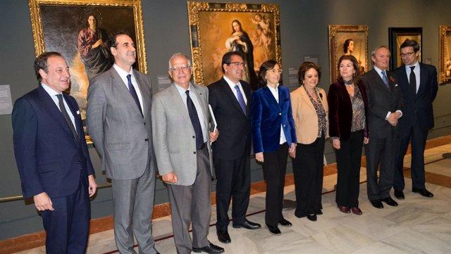 Presentación de 'Velázquez. Murillo. Sevilla'