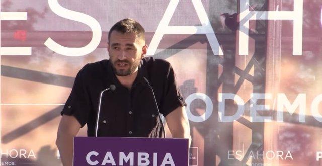 Emilio Delgado, Podemos