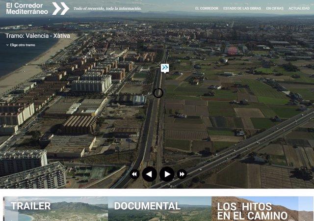 Página web www.Elcorredormediterráneo.Com