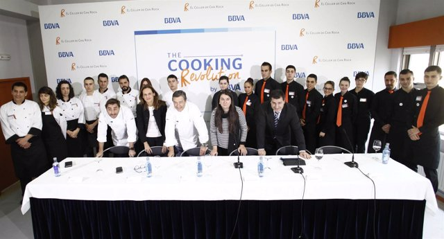 Jóvenes gallegos se formarán en El Celler de Can Roca