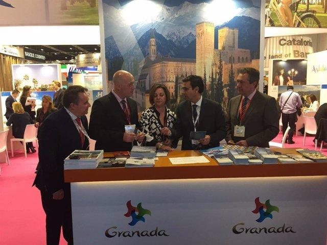 El alcalde de Granada, junto a los de Sevilla y Córdoba en Londres