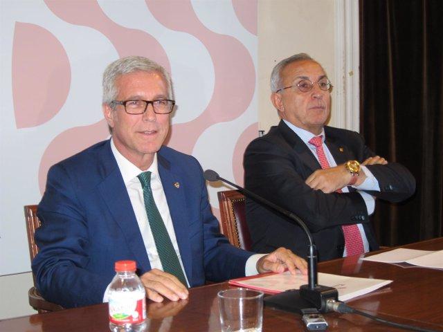 Josep Félix Ballesteros y Alejandro Blanco