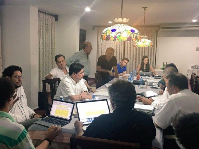 Equipos de paz del Gobierno y las FARC