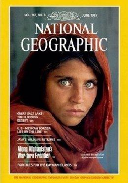 Detienen a la niña afgana que fue portada de National Geographic