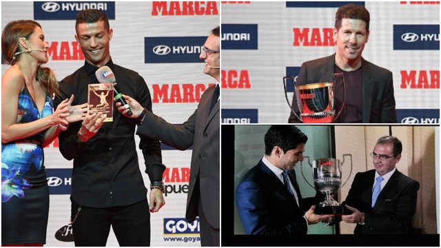 Cristiano Simeone Luis Súarez Premios Marca