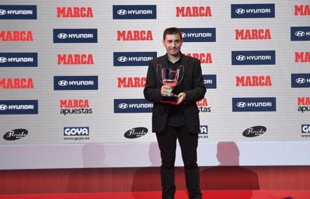 Asier Garitano Leganés Premios MARCA