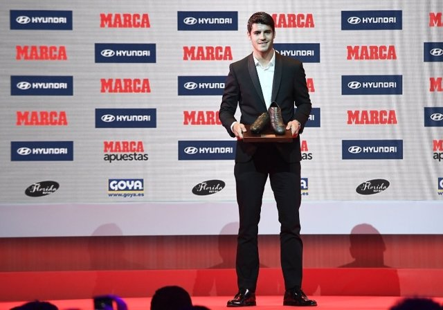 Álvaro Morata Real Madrid Premios Marca