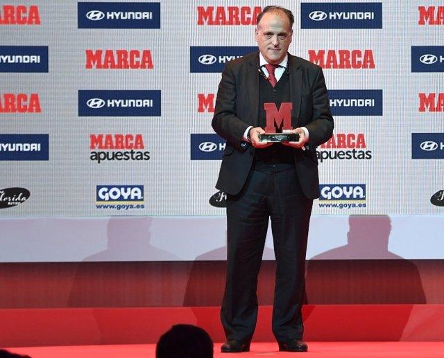 Javier Tebas Premios Marca