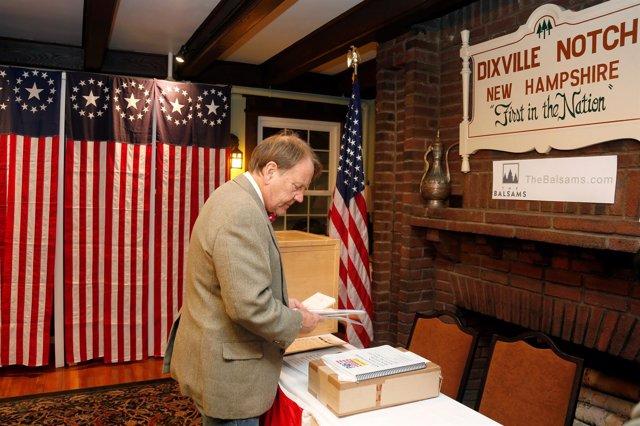 Votación en Dixville Notch