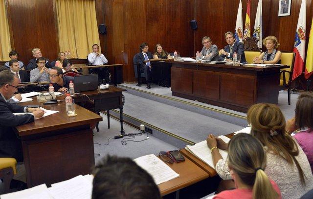 Pleno Ayuntamiento de Santander