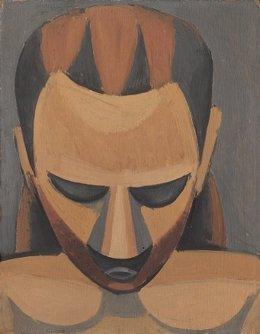 Pablo Picasso, 'Kopf eines Mannes' (1908)